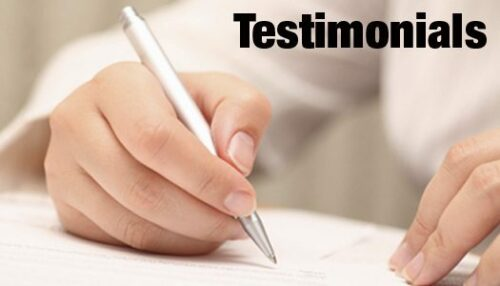 Core elements of testimonials on your website.