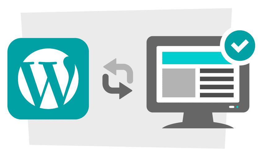 Updating Wordpress Version