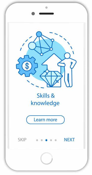 LMS website design