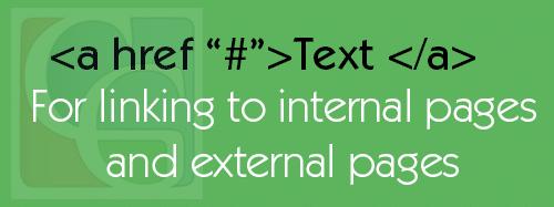 href linking html code
