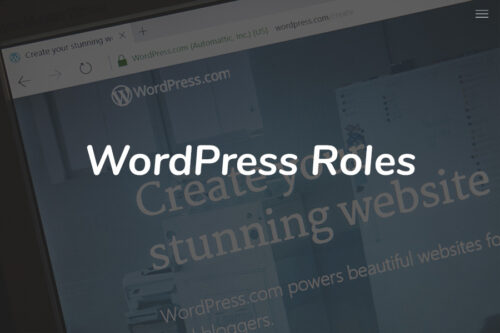 Wordpress Roles