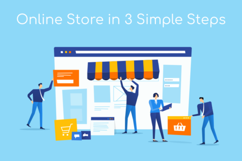 Online Store 3 Simple Steps